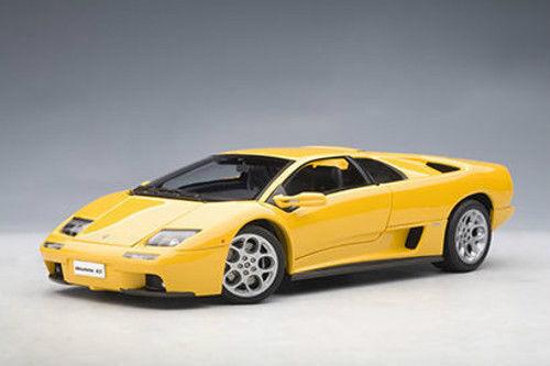 1 18 Autoart Lamborghini Diablo 6.0 (jaune) jaune