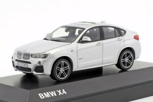 BMW-X4-Silver-official-dealer-model-scale-1-43-new-car-mens-gift