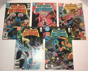 Batman-and-The-Outsiders-Lot-of-5-Comics-DC-Comics-Issues-1-4-5-25-27