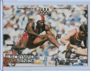 1996-UD-OLYMPIC-CHAMPIONS-ROGER-KINGDOM-HURDLES-CARD-32-MULTIPLES-AVAILABLE