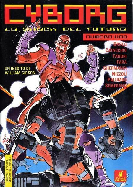CYBORG LO SHOCK DEL FUTURO #01 STAR COMICS