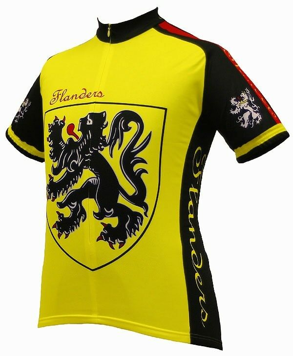 World Men's Flanders Cycling Jersey Medium
