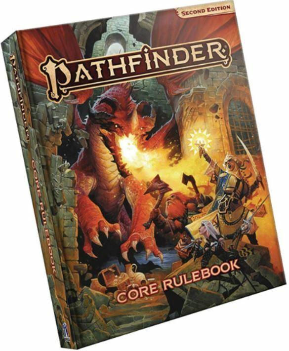 PATHFINDER RPG Second Edition P2-Core delinea Copertina Rigida Libro