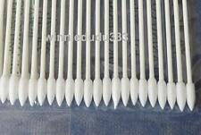 100pcs 25-001 Mini Pointy Gun Tip Double Point Cleaning Cotton Swab For Printer