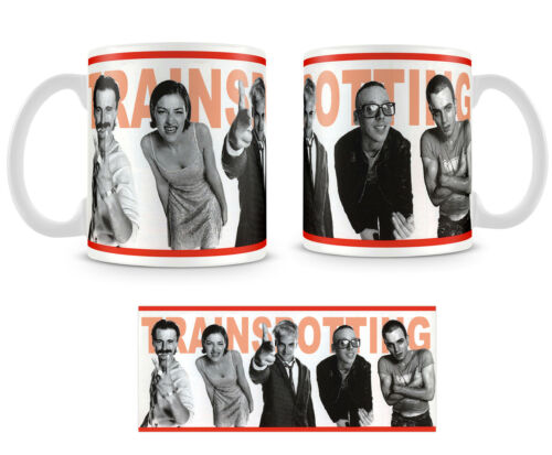 Tazza Mug TRAINSPOTTING in ceramica idee regalo caffè film movie