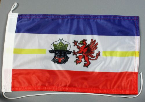 Mecklenburg Vorpommern 30x20 cm Motorradflagge Bootsflagge
