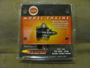 RARE-COX-TEE-DEE-TD-010-MODEL-AIRPLANE-ENGINE-U-C-F-F-THIMBLE-DROME-010-NEW