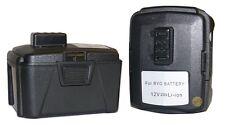 2x 12V 3Ah cordless driver/drill Battery for RYOBI BPL-1220 CB120L 12Volt Li-ion