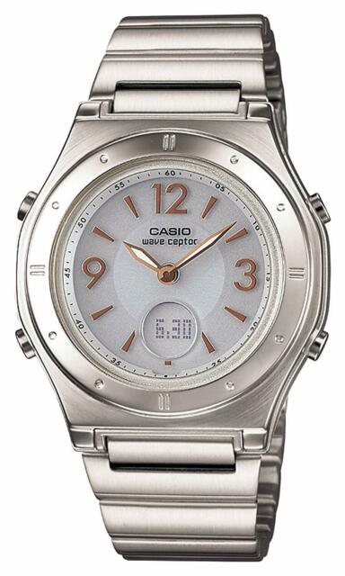 Casio Wave Ceptor Tough Solar Radio Multiband6 Lwa-m141d-7ajf Women Watch 7c794e8ee