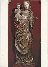 Alte Kunstpostkarte - Die Muttergottes von Colmar - 14. Jh.