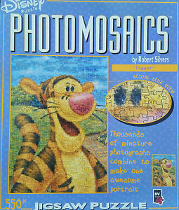 BNIB-Photomosaics-Disney-WINNIE-THE-POOH-Tigger-550-Pieces-Jigsaw-Puzzle