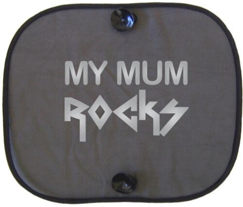 MY MUM ROCKS Kinder Auto Sonnenschutz