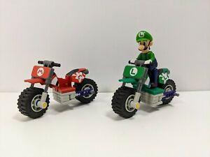 "Super Mario Bros. K'NEX Motorbikes & 2.5"" Luigi Figure - 2011 - Nintendo"