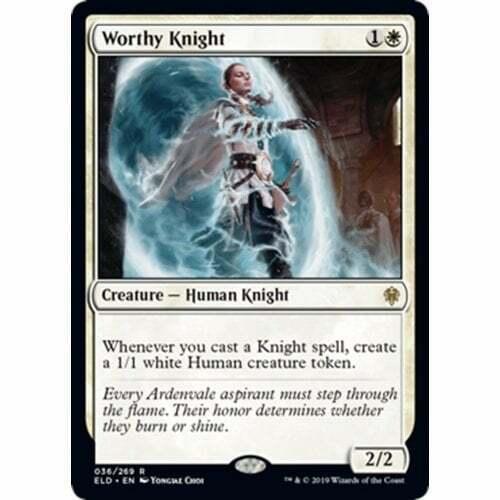 Throne of Eldraine The Gathering Worthy Knight Magic