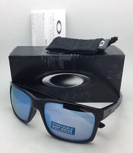 16fa358da93 Image is loading Polarized-OAKLEY-Sunglasses-MAINLINK-OO9264-21-Black-Frame-