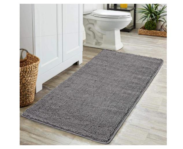 Homyux Luxury Chenille Bath Mat Large Size 24 X35 Shaggy Bathroom Rugs For Sale Online Ebay