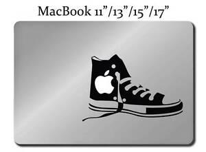 43fc1cbea5c9 CONVERSE ALL STAR SHOES Decal LAPTOP MACBOOK Mac Pro Air Sticker ...