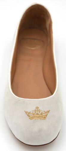 Art Church's Gamuza Planos Zapatos Sophie Manoletinas Mujer Casual Informal w4601wq