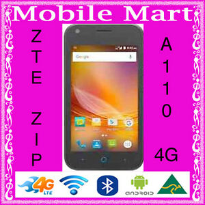 UNLOCKED-ZTE-ZIP-BLADE-A110-3G-4G-LTE-QUAD-CORE-1-GHz-ANDROID-5-1-4-034-DUAL-CAMERA