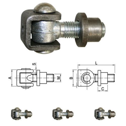 Torband verzinkt Torbänder Scharnier Tor Torantrieb Stahl Einschweißmutter Zaun