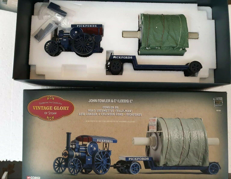Corgi 80102 Fowler B6 Crane Engine Engine Engine & Cylinder Trailer 6bfc49