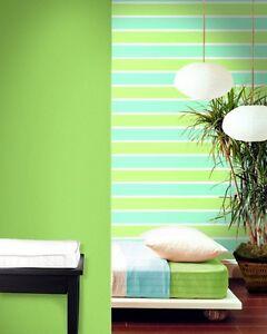 Image Is Loading Green White Amp Blue Horizontal Stripe Wallpaper By