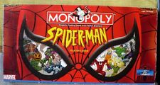 SPIDERMAN MONOPOLY COLLECTOR'S EDITION HASBRO 2002 COMPLETE