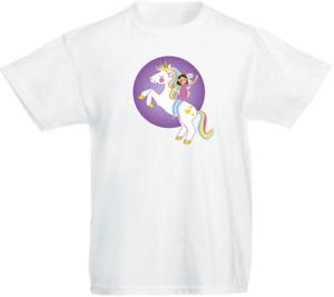 Unicorn 03 Children/'s Kids Personalised t-shirt Top Boys Girls Christmas Gift