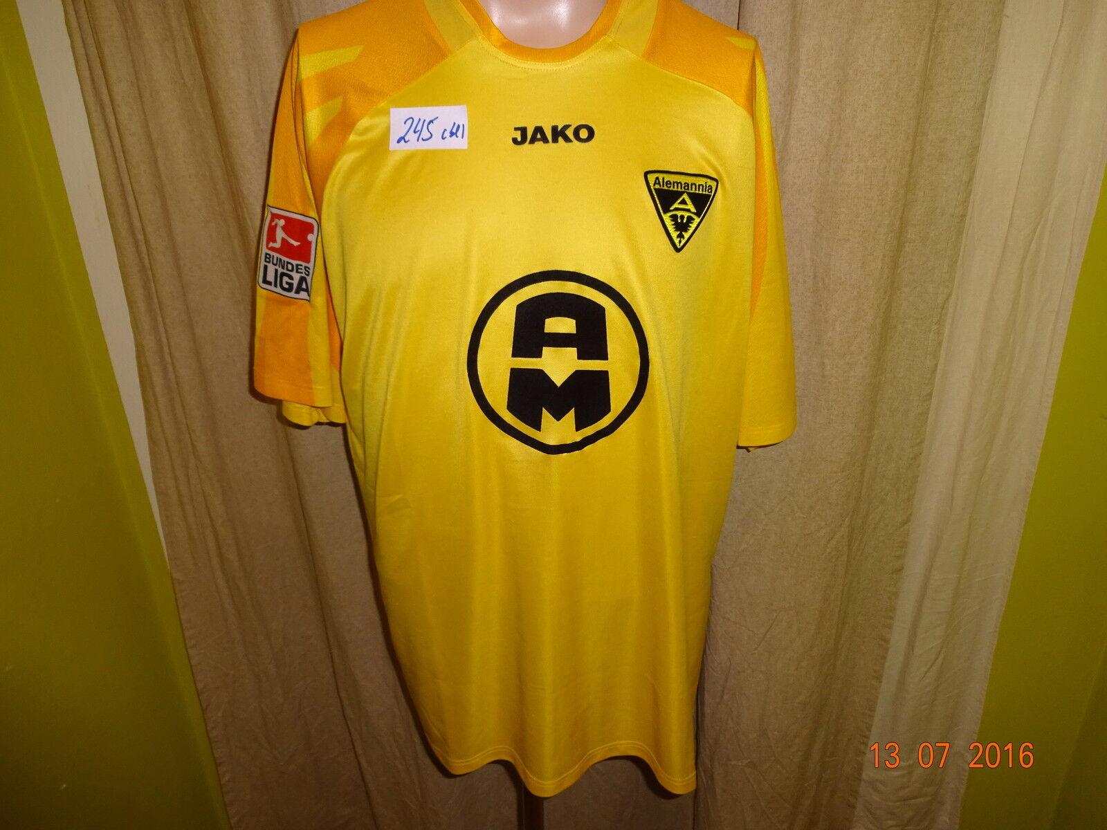 Alemannia Alemannia Alemannia Aachen Jako Matchworn Trikot 2003 04  A M  + Nr.12 Mbwando Gr.XL    Shopping Online  735db6