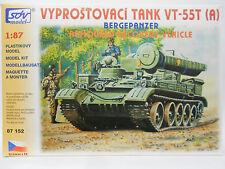 SDV Modell 87152 Berge Panzer VT - 55 T NVA, Bundeswehr Baus. HO1:87 Medium Tank