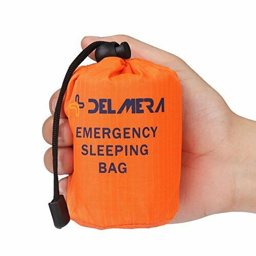 Emergency Survival Sleeping Bag Lightweight Waterproof Thermal Blanket Bivy Sack