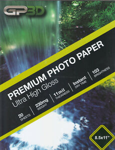 Photo-Paper-Glossy-8-5x11-20-Sheets-per-Pack-with-FREE-Shipping
