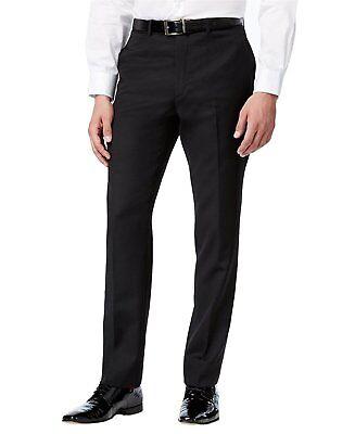 Comfort Fit... Bocaccio Uomo Men's Classic Fit Flat Front Tuxedo Pants