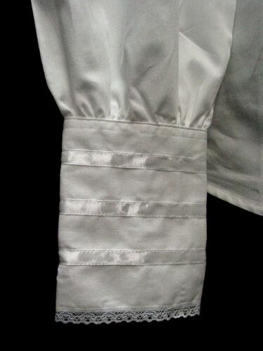 Victorian Blouse White cotton anl ruffles Clara Frontier Classics S-3XL