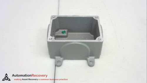 NEW #253639 ELECTRICAL BOX MELTRIC CORPORATION 61-3A053-080-34