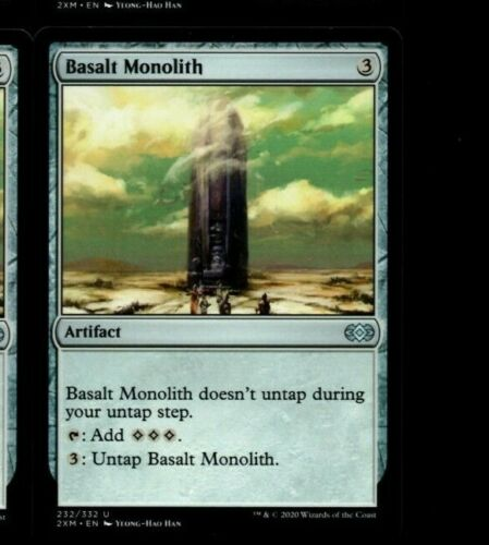 Monolithe de basalte NM MTG magic 2XM MRM ENGLISH Basalt Monolith