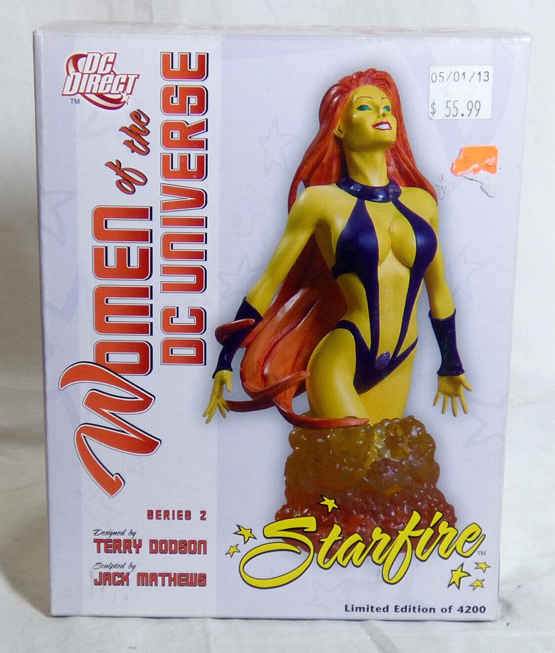 DC Comics mujeres del Universo DC Estrellafire Busto-Nuevo