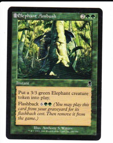 MTG Odyssey  ELEPHANT AMBUSH
