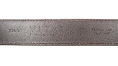 Vitali pleine fleur 40mm Homme Ceinture en cuir italien Jeans Made in Italy 3901
