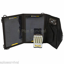 Goal Zero Guide 10 Plus Adventure Kit  Solar Panel, Power Supply Battery Charger