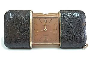 Selfless Movado Ermeto Purse Antique Travel Watch Last Style Pocket Watches