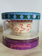 Disneyland Resorts Mad Tea Party Cup Saucer Retired Rare alice in wonderland