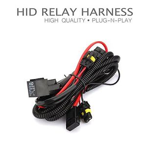 Details about One Xentec HID Kit Relay Harness Anti-Flicker Power Wiring on