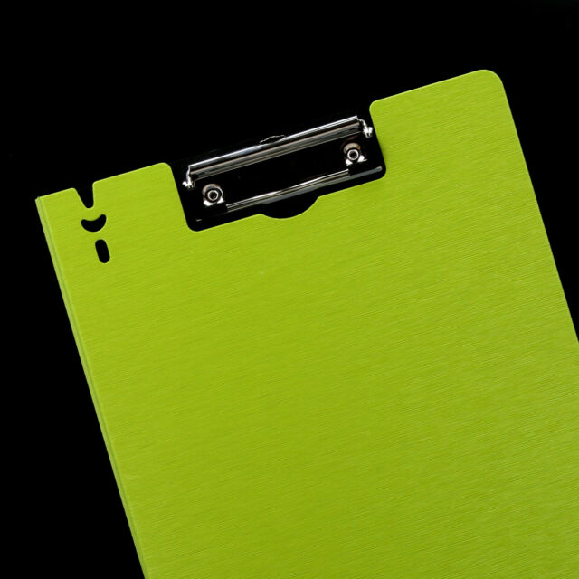 A4 Clipboard Paper File Clip Board Pen Holder Portable Writing Pad
