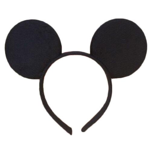 Minnie Mouse Ear Bow Headbands Baby Girls Cute Cartoon Accessories Kids Headwrap