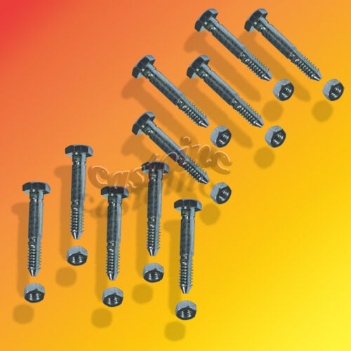 ST624 ST724 10 Pack Snow Blower Shear Pins With Nuts For Ariens ST524 ST824