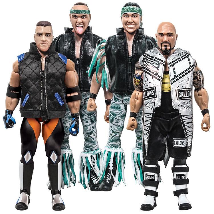 Rising Stars of Wrestling 1: Action Figure Series 1: Wrestling Set of all 4 bdfcdd