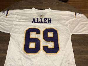 Jared Allen 69 Minnesota Vikings NFL Team Apparel Reebok Medium ...