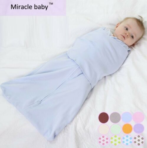 Baby Infant Swaddle Baby Wrap Swaddling Blanket Newborn Sleeping Bag 06 months