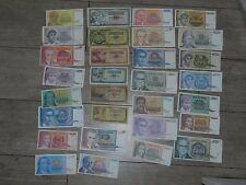 Yougoslavie - Lot de 30 Billets DIFFÉRENTS - 1968 / 1994  - TOP !!!!